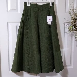 Gorgeous J.W. Anderson long quilted skirt